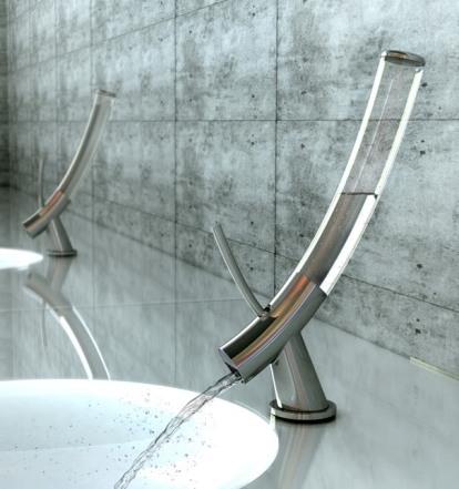 grifo baño estructura translúcida
